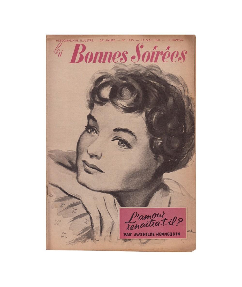 N° 1.475 - Les Bonnes Soirées du 14 mai 1950