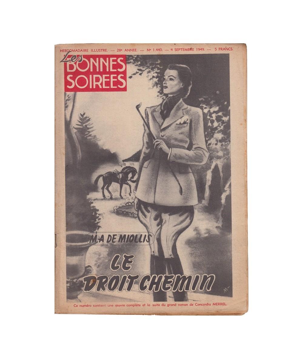 N° 1.440 - Les Bonnes Soirées du 4 septembre 1949