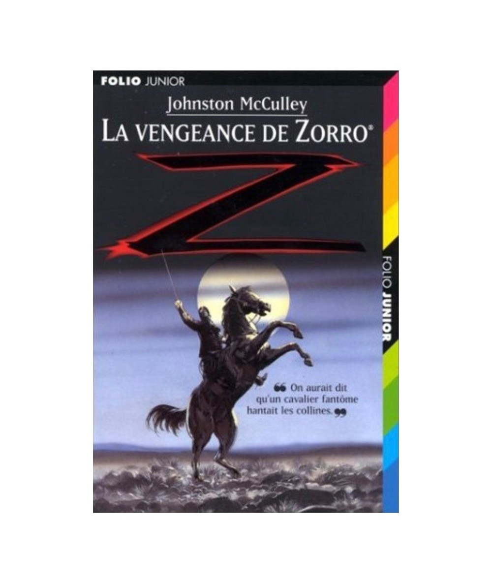 N° 923 - La vengeance de Zorro (Johnston McCulley) - Folio Junior