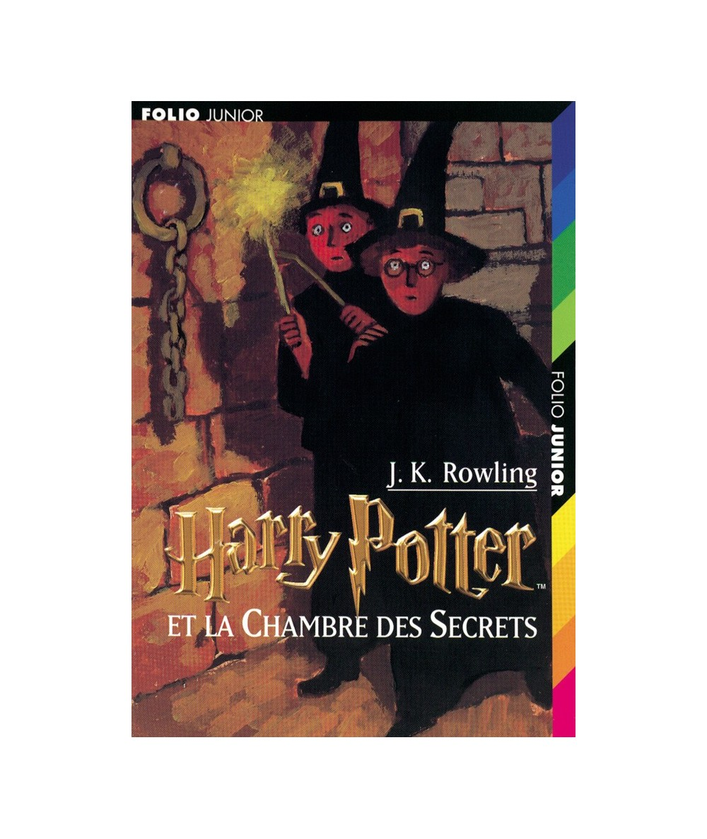 N° 961 - Harry Potter et la Chambre des Secrets T2 (J. K. Rowling) - Folio Junior