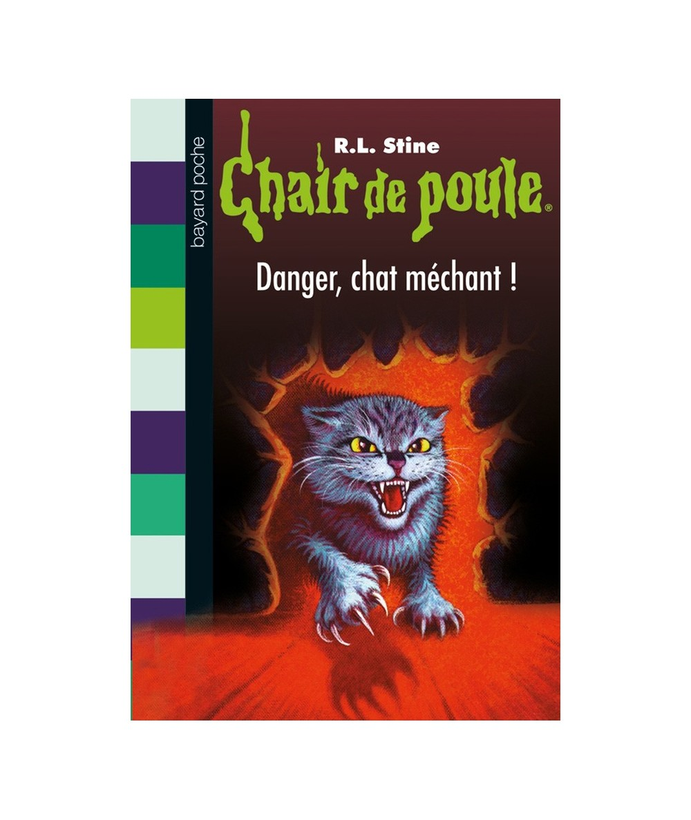 N° 45 - Chair de poule : Danger, chat méchant ! (R.L. Stine)