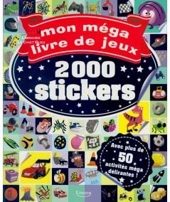 Mon méga livre de jeux : 2000 stickers