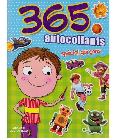 365 autocollants spécial garçons - Cahier de stickers