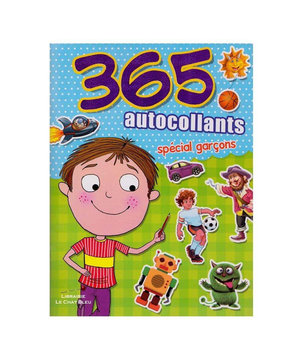 365 autocollants spécial garçons