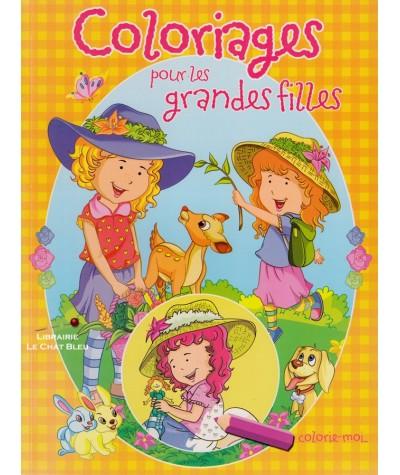 Coloriages pour les grandes filles : Lisa et ses animaux