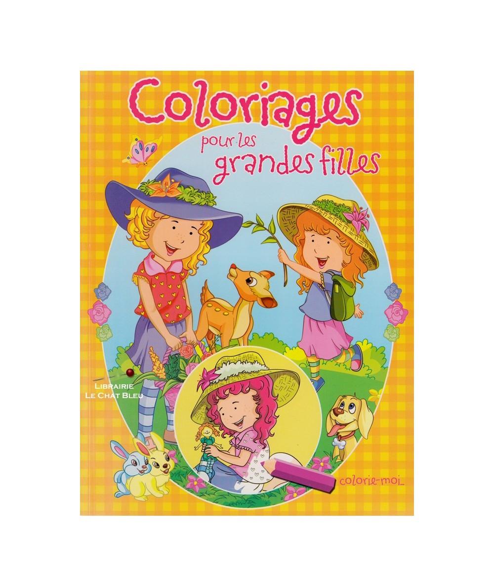 Coloriages pour les grandes filles