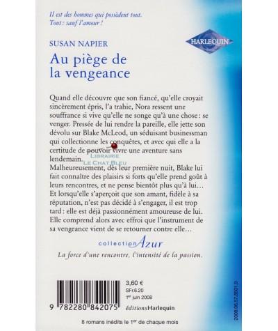 Au piège de la vengeance (Susan Napier) - Play-boy & Milliardaire - Azur N° 2785