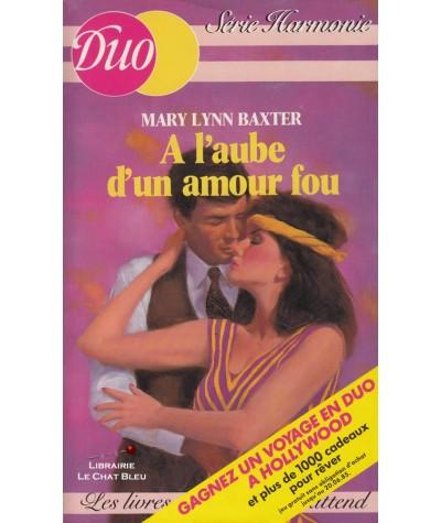 A l'aube d'un amour fou (Mary Lynn Baxter) - Duo Harmonie N° 59