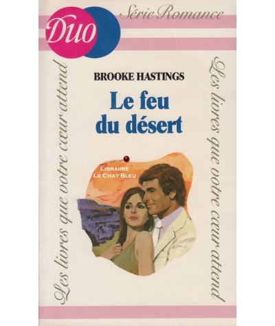 Le feu du désert (Brooke Hastings) - Duo Romance N° HC2