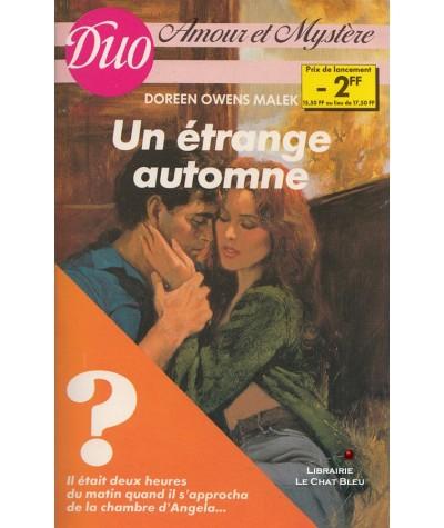 Un étrange automne (Doreen Owens Malek) - Duo Amour et mystère N° 4