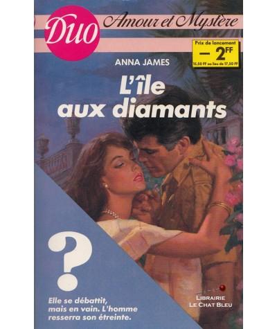 L'île aux diamants (Anna James) - Duo Amour et mystère N° 3