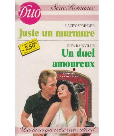 Juste un murmure - Un duel amoureux - Duo Romance N° 303/304