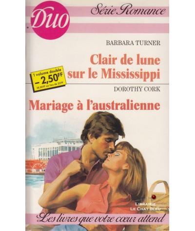 Clair de lune sur le Mississippi - Mariage à l'australienne - Duo Romance N° 293/294