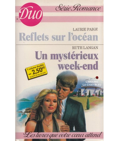 Reflets sur l'océan - Un mystérieux week-end - Duo Romance N° 291/292