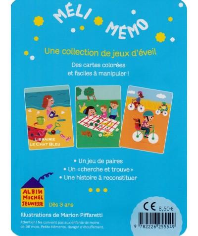 Méli-mémo : Les vacances (Marion Piffaretti) - 3 jeux d'éveil dès 3 ans