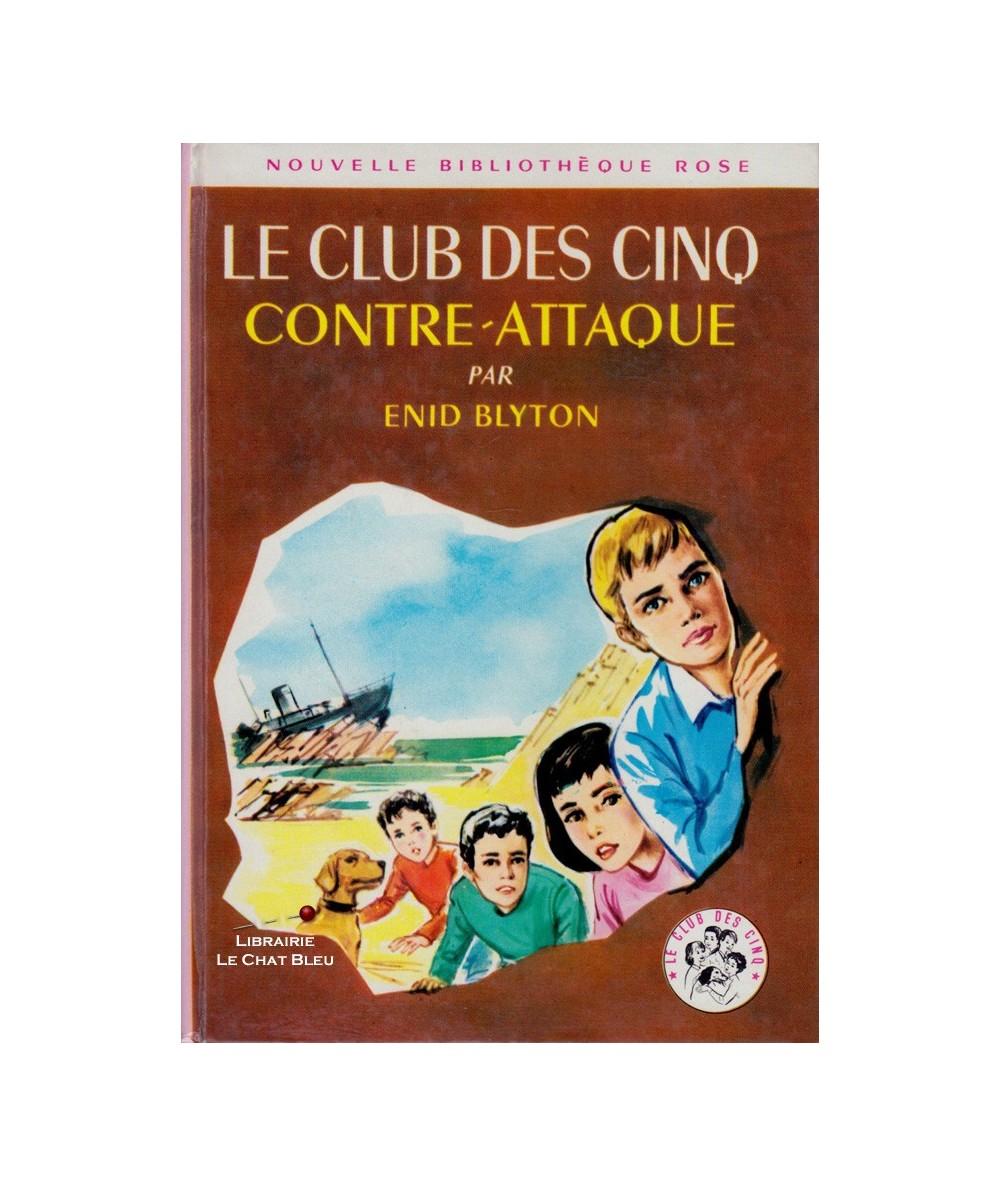 N° 9 - Le Club des Cinq contre-attaque (Enid Blyton)