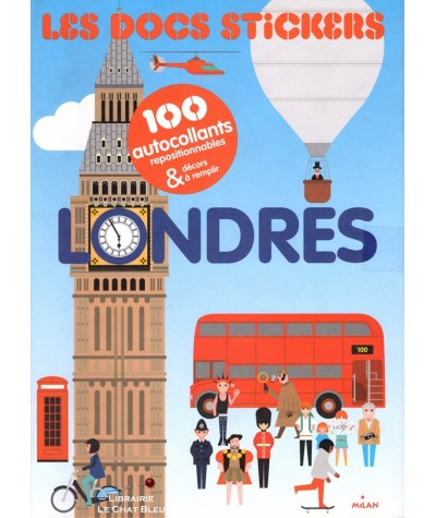 Les docs stickers : LONDRES (Robert Hanson) - 100 autocollants repositionnables