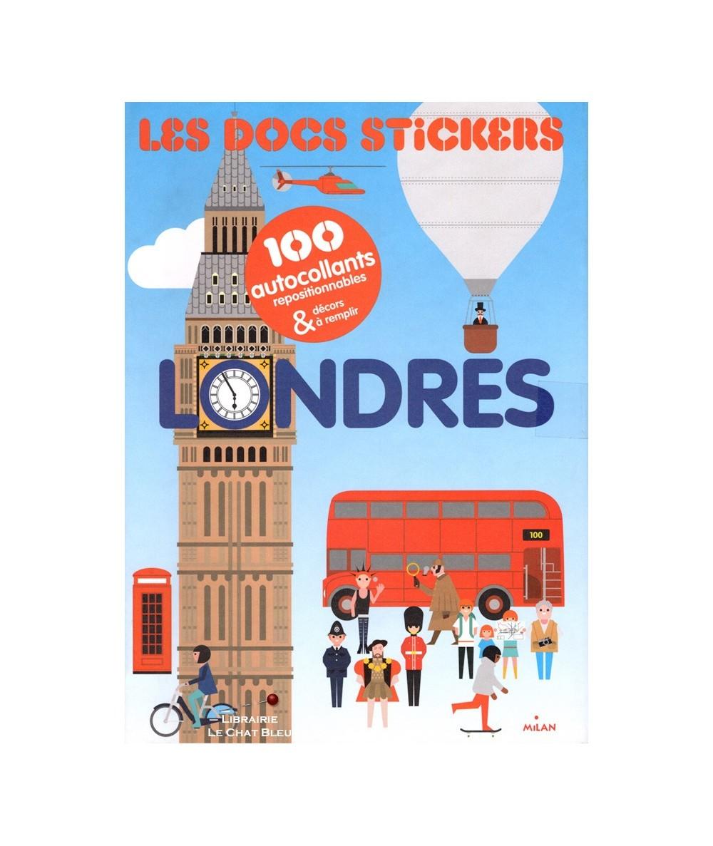 Les docs stickers : LONDRES (Robert Hanson) - 100 autocollants repositionnables