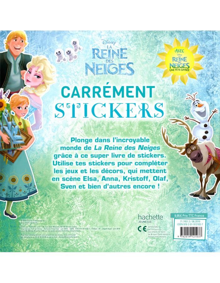 La reine des neiges walt disney carr ment stickers - Raiponce la reine des neiges ...