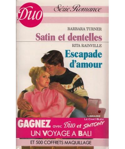Satin et dentelles - Escapade d'amour - Duo Romance N° 341/342