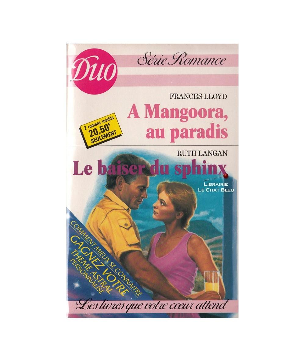 N° 355/356 - A Mangoora au paradis (Frances Lloyd) - Le baiser du sphinx (Ruth Langan)