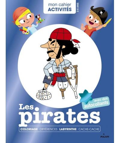 """Mon cahier Activités : Les pirates - Collection """"Mes années POURQUOI"""""""