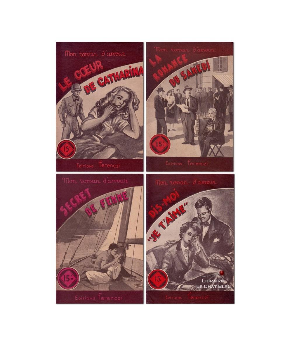 Lot de 4 livres : René Poupon - Jean Dryer - Luc Desgraves - André de Surty