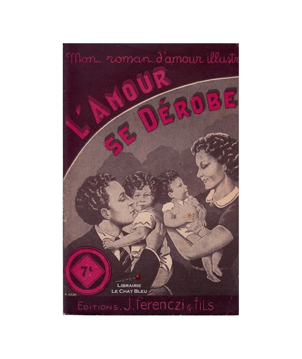 N° 78 - L'amour se dérobe (France Noël) - Couverture de R. Houy