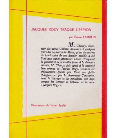 Jacques Rogy traque l'espion (Pierre Lamblin) - Spirale N° 407