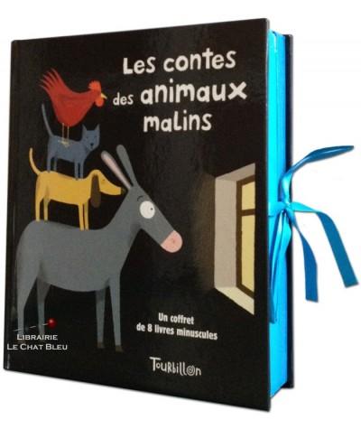 Coffret de 8 livres minuscules : Les contes des animaux malins