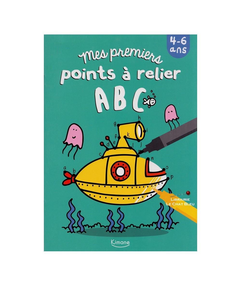Mes premiers points à relier ABC - De 4 à 6 ans