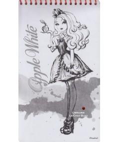 Ever After High : Apple White & Raven Queen (Mattel) - Carnet créatif