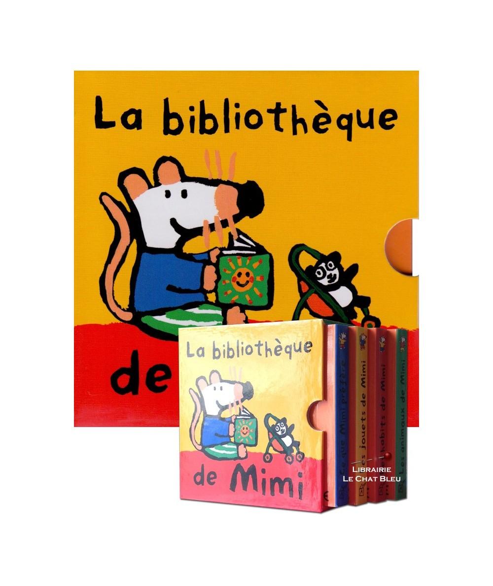 La bibliothèque de Mimi (Lucy Cousins) : Coffret de 4 livres cartonnés - Dès 18 mois