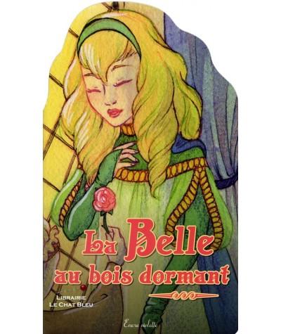 La Belle au bois dormant (Jennifer Trican) - Encre violette