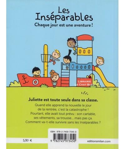 Les inséparables : Juliette est toute seule dans sa classe (Nathalie Dargent, Yannick Thomé)