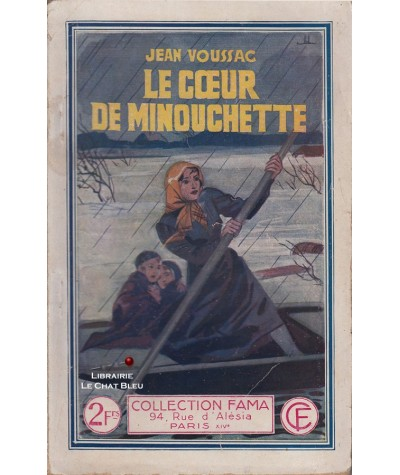 Le coeur de Minouchette (Jean Voussac) - Fama N° 553