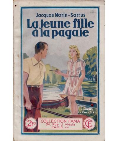 La jeune fille à la pagaie (Jacques Morin-Sarrus) - Fama N° 657