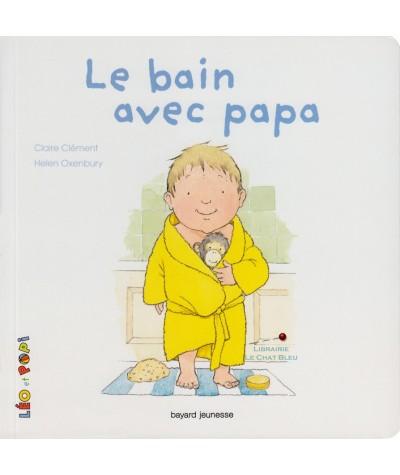 LÉO et POPI : Le bain avec papa (Claire Clément, Helen Oxenbury)