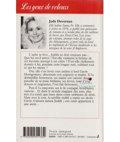 La Saga des Montgomery T1 : Les yeux de velours (Jude Deveraux) - J'ai lu N° 2927