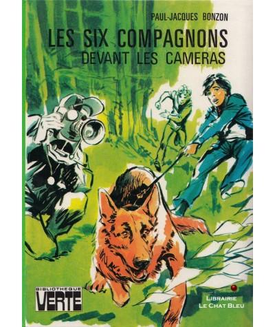 Les six compagnons devant les cameras (Paul-Jacques Bonzon) - Bibliothèque Verte