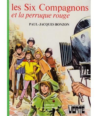 Les six compagnons et la perruque rouge (Paul-Jacques Bonzon) - Bibliothèque Verte