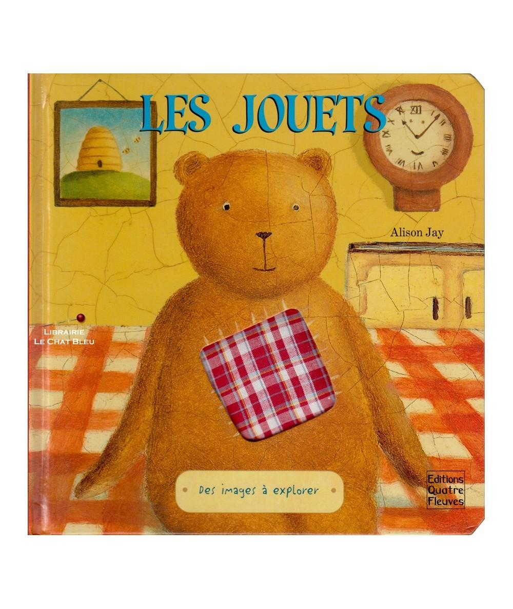 Livre à toucher : Les jouets (Alison Jay)