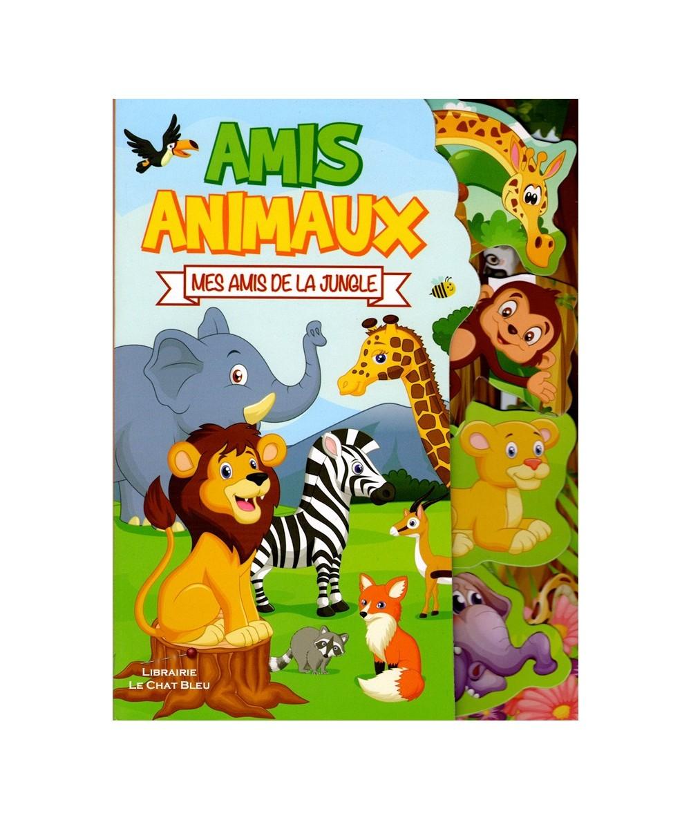 Amis animaux : Mes amis de la jungle - Livre tout-carton