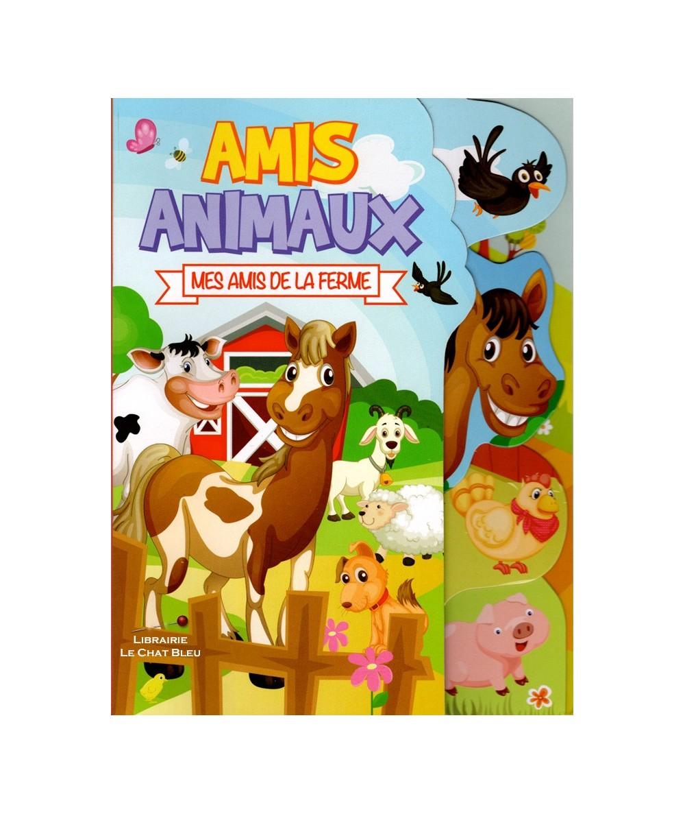 Amis animaux : Mes amis de la ferme - Livre tout-carton