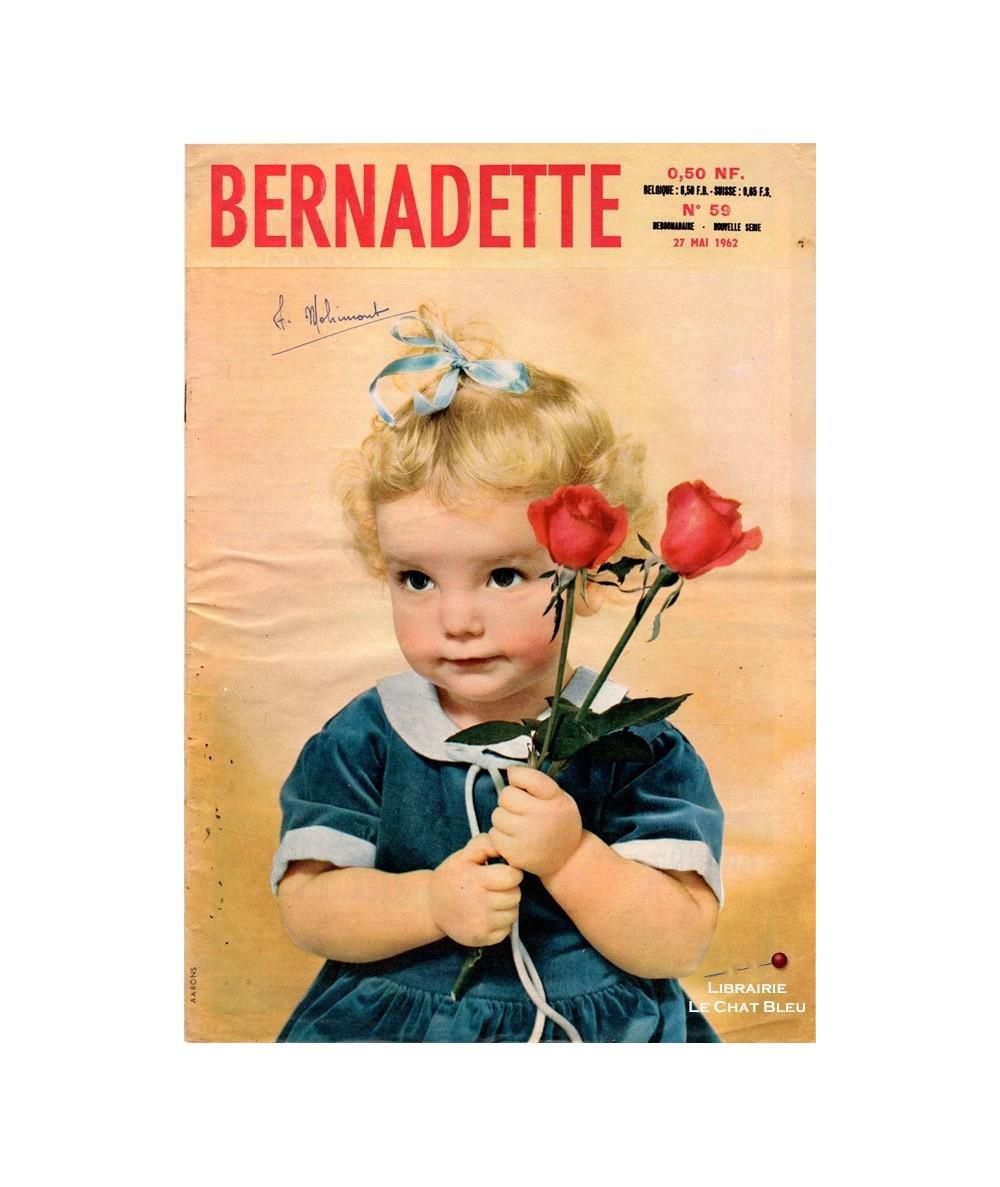 Bernadette n° 59 du 27 mai 1962