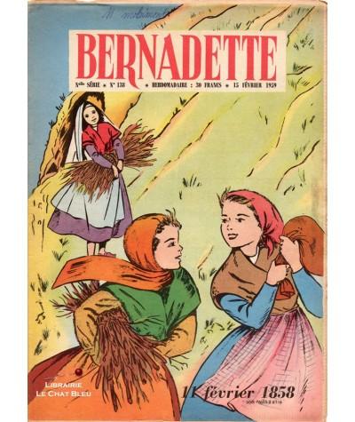 Revue Bernadette N° 138 du 15 février 1959