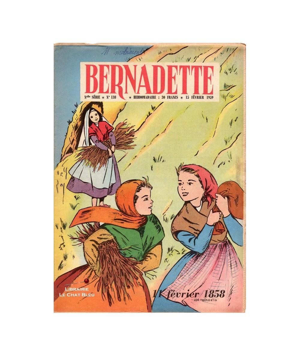 Bernadette N° 138 du 15 février 1959