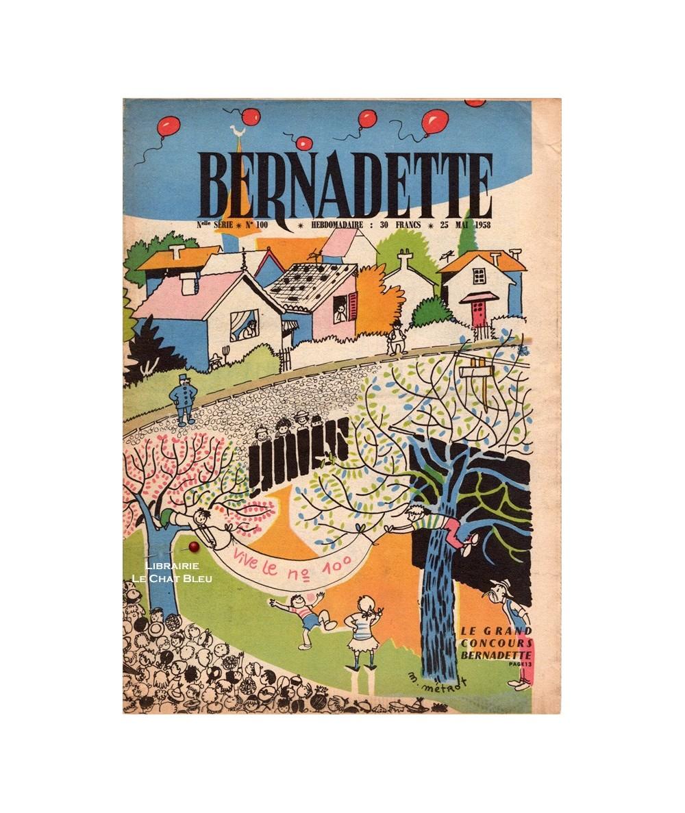 Bernadette N° 100 du 25 mai 1958