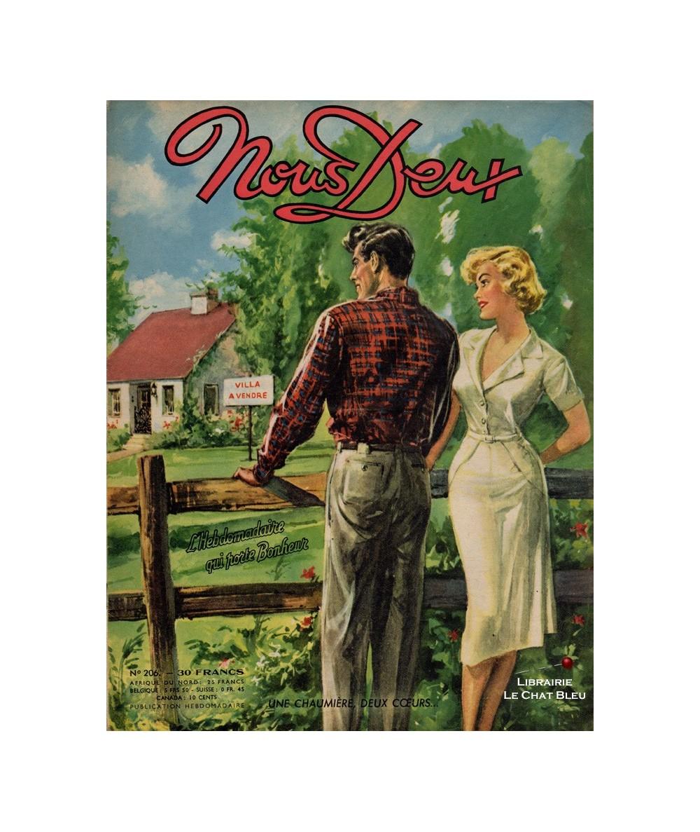 Nous Deux n° 206 paru en 1951 : Une chaumière deux coeurs…