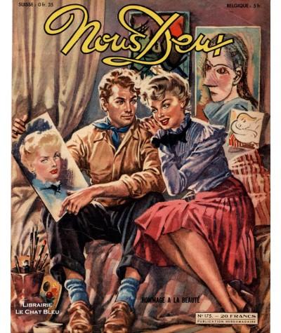 L'hebdomadaire Nous Deux n° 175 - Année 1950 : Hommage à la beauté